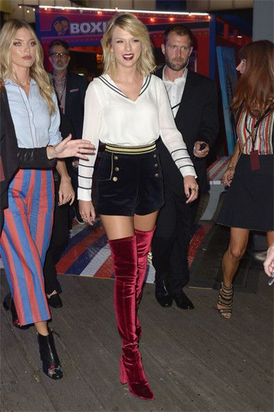 Taylor Swift街拍 会穿尽显完美气质